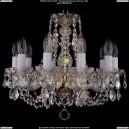 1406/10/141/G/Leafs Хрустальная подвесная люстра Bohemia Ivele Crystal (Богемия)