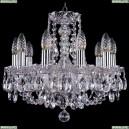 1406/10/141/Ni Хрустальная подвесная люстра Bohemia Ivele Crystal (Богемия)