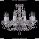 1406/10/141/Ni/Balls Хрустальная подвесная люстра Bohemia Ivele Crystal (Богемия)