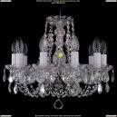 1406/10/141/Ni/Leafs Хрустальная подвесная люстра Bohemia Ivele Crystal (Богемия)