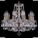 1406/10/141/Pa Хрустальная подвесная люстра Bohemia Ivele Crystal (Богемия)