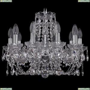 1406/10/160/Ni Хрустальная подвесная люстра Bohemia Ivele Crystal (Богемия)