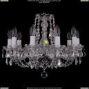 1406/10/160/Ni/Leafs Хрустальная подвесная люстра Bohemia Ivele Crystal (Богемия)