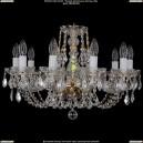 1406/10/195/G/Leafs Хрустальная подвесная люстра Bohemia Ivele Crystal (Богемия)