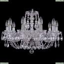 1406/10/195/Ni Хрустальная подвесная люстра Bohemia Ivele Crystal (Богемия)
