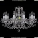 1406/10/195/Ni/Balls Хрустальная подвесная люстра Bohemia Ivele Crystal (Богемия)