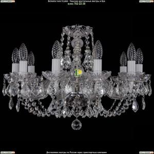 1406/10/195/Ni/Leafs Хрустальная подвесная люстра Bohemia Ivele Crystal (Богемия)
