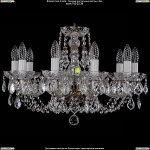 1406/10/195/Pa/Leafs Хрустальная подвесная люстра Bohemia Ivele Crystal (Богемия)