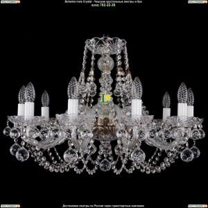 1406/10/240/Pa/Balls Хрустальная подвесная люстра Bohemia Ivele Crystal (Богемия)