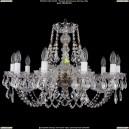 1406/10/240/Pa/Leafs Хрустальная подвесная люстра Bohemia Ivele Crystal (Богемия)