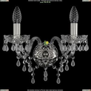1410/2/Ni/0300 Хрустальная бра Bohemia Ivele Crystal (Богемия)