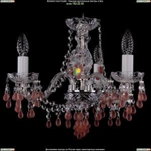 1410/3/141/Ni/7010 Хрустальная подвесная люстра Bohemia Ivele Crystal (Богемия)