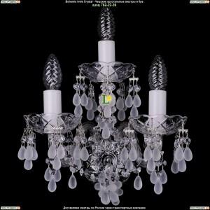 1410/3/Ni/0300 Хрустальная бра Bohemia Ivele Crystal (Богемия)