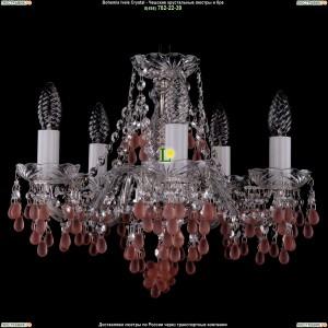 1410/5/141/Ni/7010 Хрустальная подвесная люстра Bohemia Ivele Crystal (Богемия)