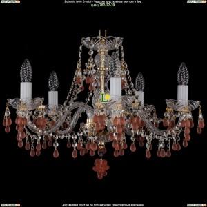 1410/5/195/G/7010 Хрустальная подвесная люстра Bohemia Ivele Crystal (Богемия)