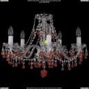 1410/5/195/Ni/V7010 Хрустальная подвесная люстра Bohemia Ivele Crystal (Богемия)