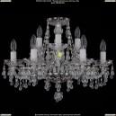 1410/6+3/195/Ni/V0300 Хрустальная подвесная люстра Bohemia Ivele Crystal (Богемия)