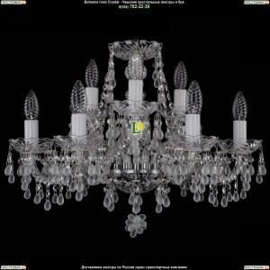 1410/6+3/195/Ni/0300 Хрустальная подвесная люстра Bohemia Ivele Crystal (Богемия)