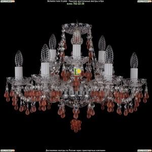 1410/6+3/195/Ni/7010 Хрустальная подвесная люстра Bohemia Ivele Crystal (Богемия)