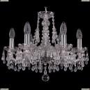 1410/6/160/Ni/V0300 Хрустальная подвесная люстра Bohemia Ivele Crystal (Богемия)