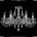 1410/6/195/Ni/V0300 Хрустальная подвесная люстра Bohemia Ivele Crystal (Богемия)