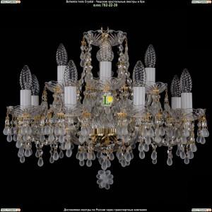 1410/8+4/195/G/0300 Хрустальная подвесная люстра Bohemia Ivele Crystal (Богемия)