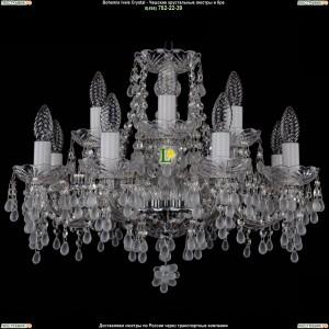1410/8+4/195/Ni/0300 Хрустальная подвесная люстра Bohemia Ivele Crystal (Богемия)