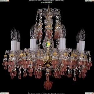 1410/8/141/G/7010 Хрустальная подвесная люстра Bohemia Ivele Crystal (Богемия)
