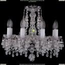 1410/8/141/Ni/V0300 Хрустальная подвесная люстра Bohemia Ivele Crystal (Богемия)