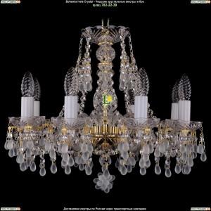 1410/8/160/G/0300 Хрустальная подвесная люстра Bohemia Ivele Crystal (Богемия)