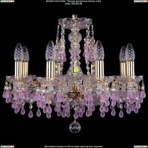 1410/8/160/G/7010 Хрустальная подвесная люстра Bohemia Ivele Crystal (Богемия)