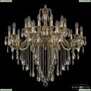 71118/20/335 B GB Подвесная люстра под бронзу из латуни Bohemia Ivele Crystal (Богемия), 7118