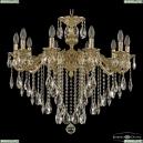 71202/10/250 B G Подвесная люстра под бронзу из латуни Bohemia Ivele Crystal (Богемия), 7102