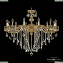 71202/12/360 B G Подвесная люстра под бронзу из латуни Bohemia Ivele Crystal (Богемия), 7102