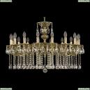 71202/16/300 A GB Подвесная люстра под бронзу из латуни Bohemia Ivele Crystal (Богемия), 7102