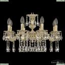 71202/8/175 A GW Подвесная люстра под бронзу из латуни Bohemia Ivele Crystal (Богемия), 7102