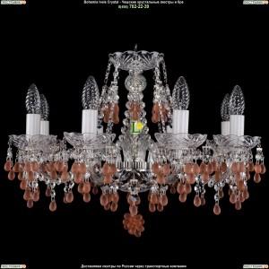1410/8/195/Ni/7010 Хрустальная подвесная люстра Bohemia Ivele Crystal (Богемия)