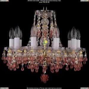 1410/10/141/G/7010 Хрустальная подвесная люстра Bohemia Ivele Crystal (Богемия)