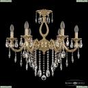 71301/6/210 B FP Подвесная люстра под бронзу из латуни Bohemia Ivele Crystal (Богемия), 7101