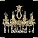 71301/8/175 A GW Подвесная люстра под бронзу из латуни Bohemia Ivele Crystal (Богемия), 7101