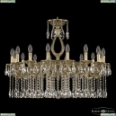 71302/16/300 A GB Подвесная люстра под бронзу из латуни Bohemia Ivele Crystal (Богемия), 7102