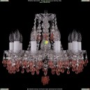 1410/10/141/Ni/V7010 Хрустальная подвесная люстра Bohemia Ivele Crystal (Богемия)