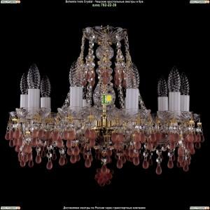 1410/10/160/G/7010 Хрустальная подвесная люстра Bohemia Ivele Crystal (Богемия)