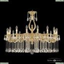 71402/16/360 A G FL2M Подвесная люстра под бронзу из латуни Bohemia Ivele Crystal (Богемия), 7102