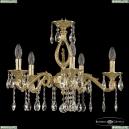 71402/5/175 A G FH1S Подвесная люстра под бронзу из латуни Bohemia Ivele Crystal (Богемия), 7102