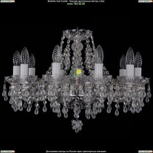 1410/10/195/Ni/0300 Хрустальная подвесная люстра Bohemia Ivele Crystal (Богемия)