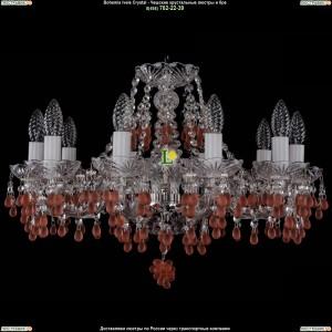 1410/10/195/NI/7010 Хрустальная подвесная люстра Bohemia Ivele Crystal (Богемия)
