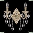 7201B10/2/175 B GW Бра под бронзу из латуни Bohemia Ivele Crystal (Богемия), 7201