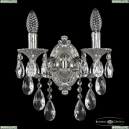 7201B11/2/125 B Ni Бра под бронзу из латуни Bohemia Ivele Crystal (Богемия), 7201