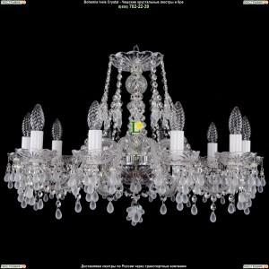 1410/10/240/Ni/0300 Хрустальная подвесная люстра Bohemia Ivele Crystal (Богемия)
